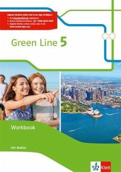 Green Line 5. Workbook mit Audio-CDs 9. Klasse