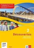 Découvertes 2. Cahier d'activités mit MP3-CD und Video-DVD. Ausgabe Bayern ab 2017
