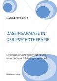 Daseinsanalyse in der Psychotherapie (eBook, ePUB)