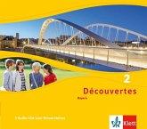7. Klasse, Hörverstehen, 3 Audio-CDs / Découvertes. Ausgabe für Bayern ab 2017 .2