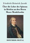 Über die Lehre des Spinoza in Briefen an den Herrn Moses Mendelssohn (eBook, ePUB)
