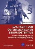 Das Recht der österreichischen Berufsdetektive