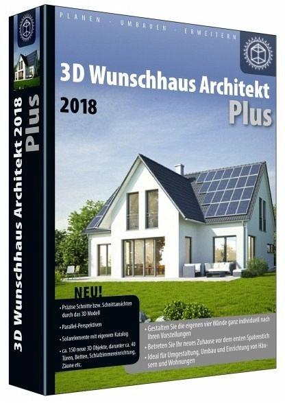 3d Wunschhaus Architekt Plus 2018 Planen Umbauen Erweitern