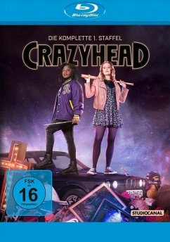 Crazyhead - Staffel 1 - 2 Disc Bluray - Theobold,Cara/Wokoma,Susan