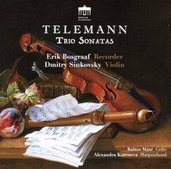 Telemann-Trio Sonatas - Bosgraaf,Erik/Sinkovsky,Dmitry