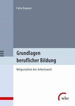 Grundlagen beruflicher Bildung (eBook, PDF) - Rauner, Felix