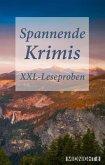 XXL-Leseproben-Bundle Spannende Krimis (eBook, ePUB)