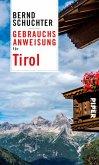 Gebrauchsanweisung für Tirol (eBook, ePUB)