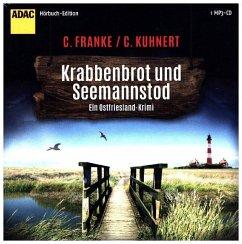Krabbenbrot und Seemannstod / Ostfriesen-Krimi Bd.1 - Franke, Christiane; Kuhnert, Cornelia