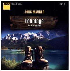 Föhnlage / Kommissar Jennerwein ermittelt Bd.1 (1 MP3-CDs) - Maurer, Jörg