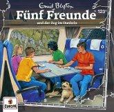 Fünf Freunde - und der Zug im Dunkeln, 1 Audio-CD
