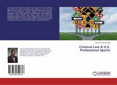 Criminal Law & U.S. Professional Sports