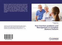 Post Insertion problems and Management in Complete Denture Patients