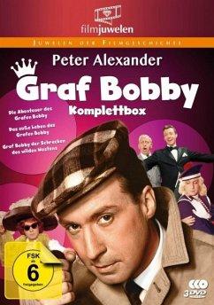 Peter Alexander: Graf Bobby Komplettbox - Die komplette Filmtrilogie DVD-Box