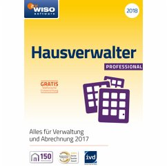 WISO Hausverwalter 2018 Professional (Download für Windows)