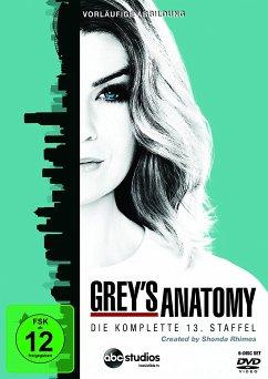 Grey's Anatomy - Die komplette dreizehnte Staffel