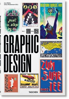 The History of Graphic Design. Vol. 1. 1890-1959 - Müller, Jens