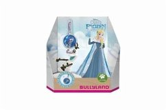 Bullyland 12937 - Olafs Adventure Double Pack Elsa, Charm