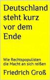 Deutschland steht kurz vor dem Ende (eBook, ePUB)