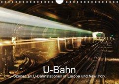 U-Bahn - Szenen an U-Bahnstationen in Europa un...
