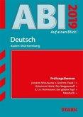 Abi - auf einen Blick! Deutsch Baden-Württemberg 2019