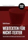 Webtexten für Nicht-Texter (eBook, ePUB)