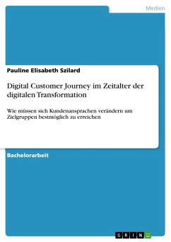 Digital Customer Journey im Zeitalter der digitalen Transformation (eBook, PDF)