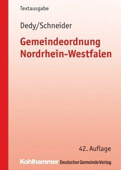 Gemeindeordnung Nordrhein-Westfalen (eBook, PDF)