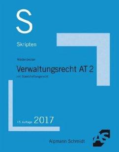 Skript Verwaltungsrecht AT 2 - Wüstenbecker, Horst