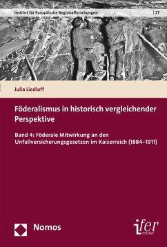 Föderalismus in historisch vergleichender Perspektive (eBook, PDF) - Liedloff, Julia