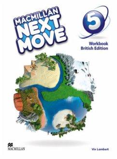 Macmillan Next Move 5. British Edition / Workbook - Lambert, Viv