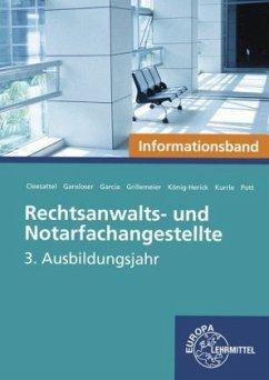 Rechtsanwalts- und Notarfachangestellte, 3. Ausbildungsjahr, Informationsband