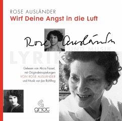 Wirf deine Angst in die Luft, 2 Audio-CD - Ausländer, Rose