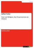 Staat und Religion. Das Proporzsystem im Libanon