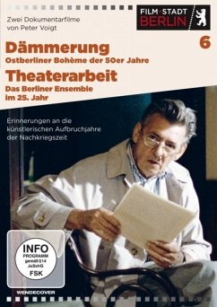 Film Stadt Berlin 6: Dämmerung - Ostberliner Boheme der 50er Jahre & Theaterarbeit - Das Berliner Ensemble im 25. Jahr