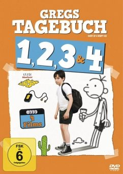 Gregs Tagebuch 1, 2, 3 & 4 (4 Discs)