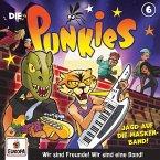 Die Punkies - Die Jagd nach der Masken-Band, 1 Audio-CD