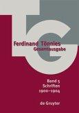 Ferdinand Tönnies Gesamtausgabe