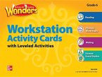 Reading Wonders, Grade 6, Workstation Activity Cards Package