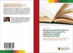 Estudo da densificacão do combustível uranio-7% gadolinio (Gd203) nanoestruturado - Serafim, Antonio