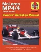McLaren MP4/4 Owners' Workshop Manual - Rendle, Steve