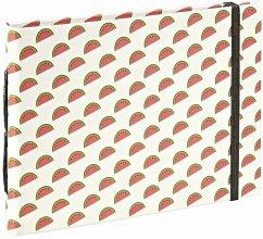 Hama Melons Buchalbum 18x13 20 braune Seiten 2392