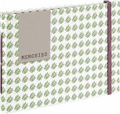 Hama Fern Buchalbum 18x13 20 braune Seiten 2395