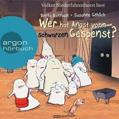 Wer hat Angst vorm schwarzen Gespenst? (Gekürzte Lesung) (MP3-Download) - Göhlich, Susanne; Nonnast, Britta