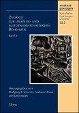 Zugänge zur literatur- und kulturwissenschaftlichen Bohemistik (eBook, PDF)