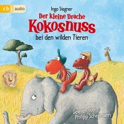 Der kleine Drache Kokosnuss bei den wilden Tieren / Die Abenteuer des kleinen Drachen Kokosnuss Bd.25 (MP3-Download) - Siegner, Ingo