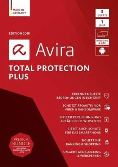 Avira Total Protection Plus 2018 - 3 Geräte
