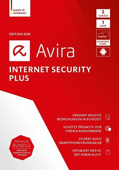 Avira Internet Security Plus 2018 - 2 Geräte, 1...