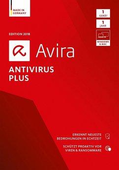 Avira AntiVirus Plus 2018 - 1 Gerät, 1 DVD-ROM