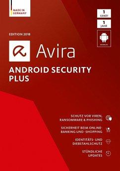 Avira Android Security Plus 2018 - 1 Gerät